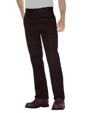 Dickies Mens Dark Brown Original 874 Work Pant