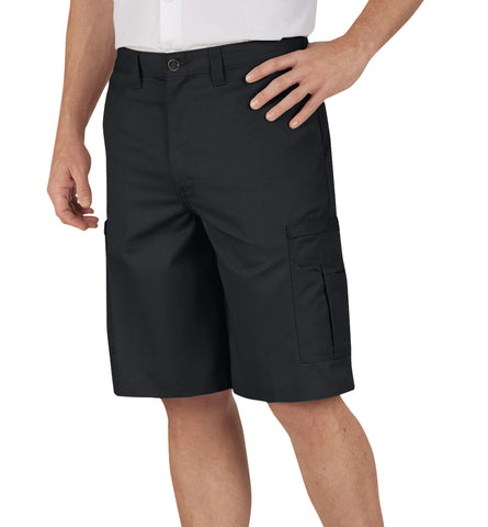 Dickies Mens Dow Charcoal 11In Industrial Cargo Short