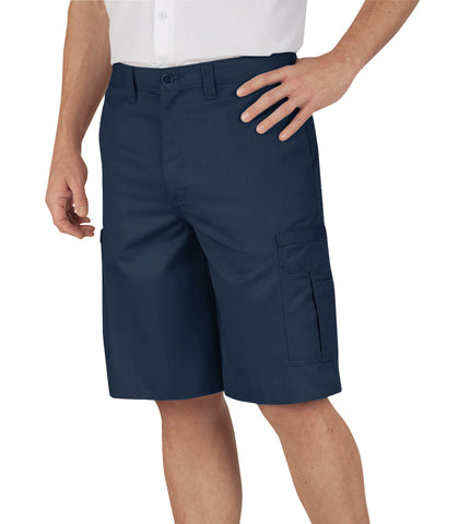 Dickies Mens Navy 11In Industrial Cargo Short