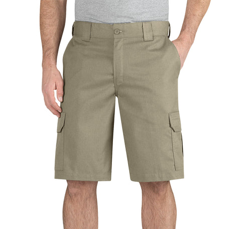 Dickies Mens Desert Sand Flex 11In Regular Fit Cargo Short