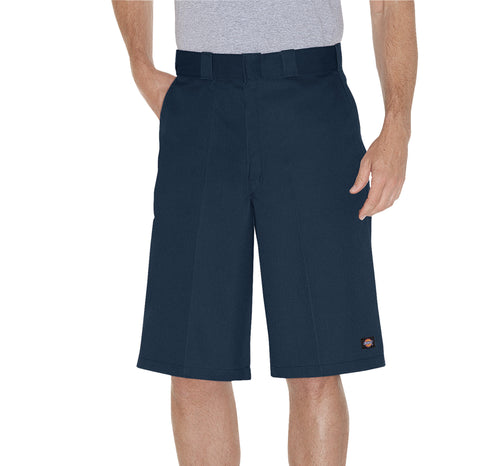 Dickies Mens Navy 13In Loose Fit Multi-Use Pocket Work Short