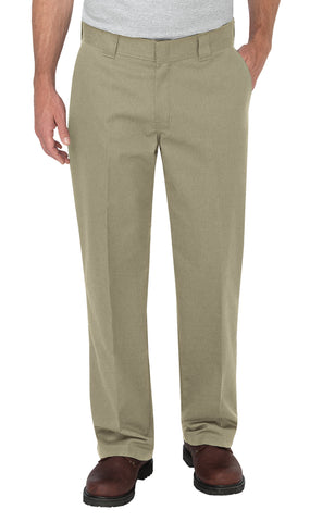 Dickies Mens Desert Sand Flex Loose Fit Straight Leg Work Pants