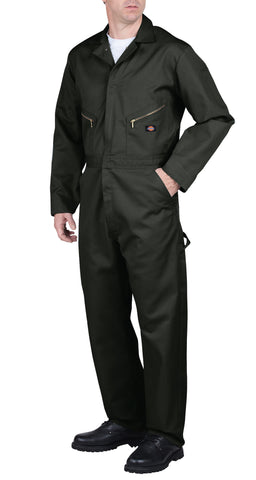Dickies Mens Olive Green Deluxe Blended Coverall