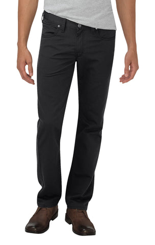 Dickies Mens Black X-Series Flex Tapered Leg Pants