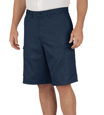 Dickies Mens Navy 11In Industrial Cargo Shorts