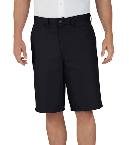 Dickies Mens Black 11In Industrial Relaxed Fit Multi-Use Pocket Short