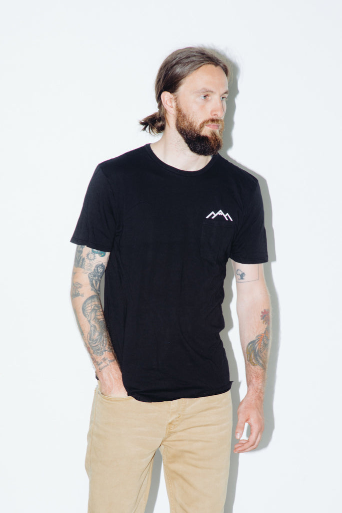 Stay Sharp, Stay Real, Stay True Pocket Tee