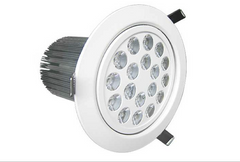 18 X 1W Downlight (integrated lenses)