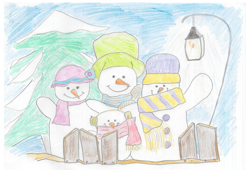 Snow Man Family (2018 competition winner)