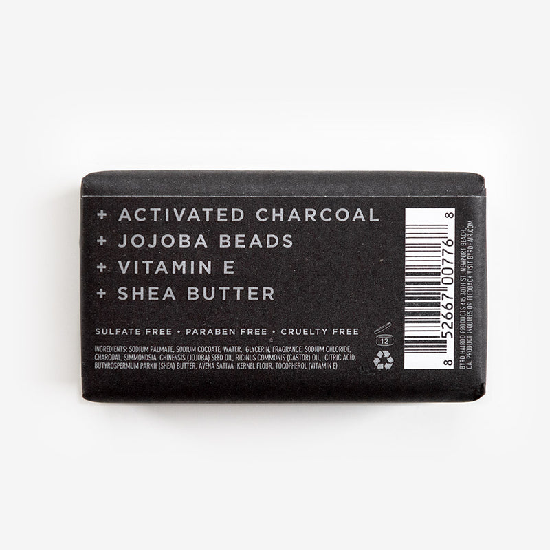 Activated Charcoal Exfoliating Bar