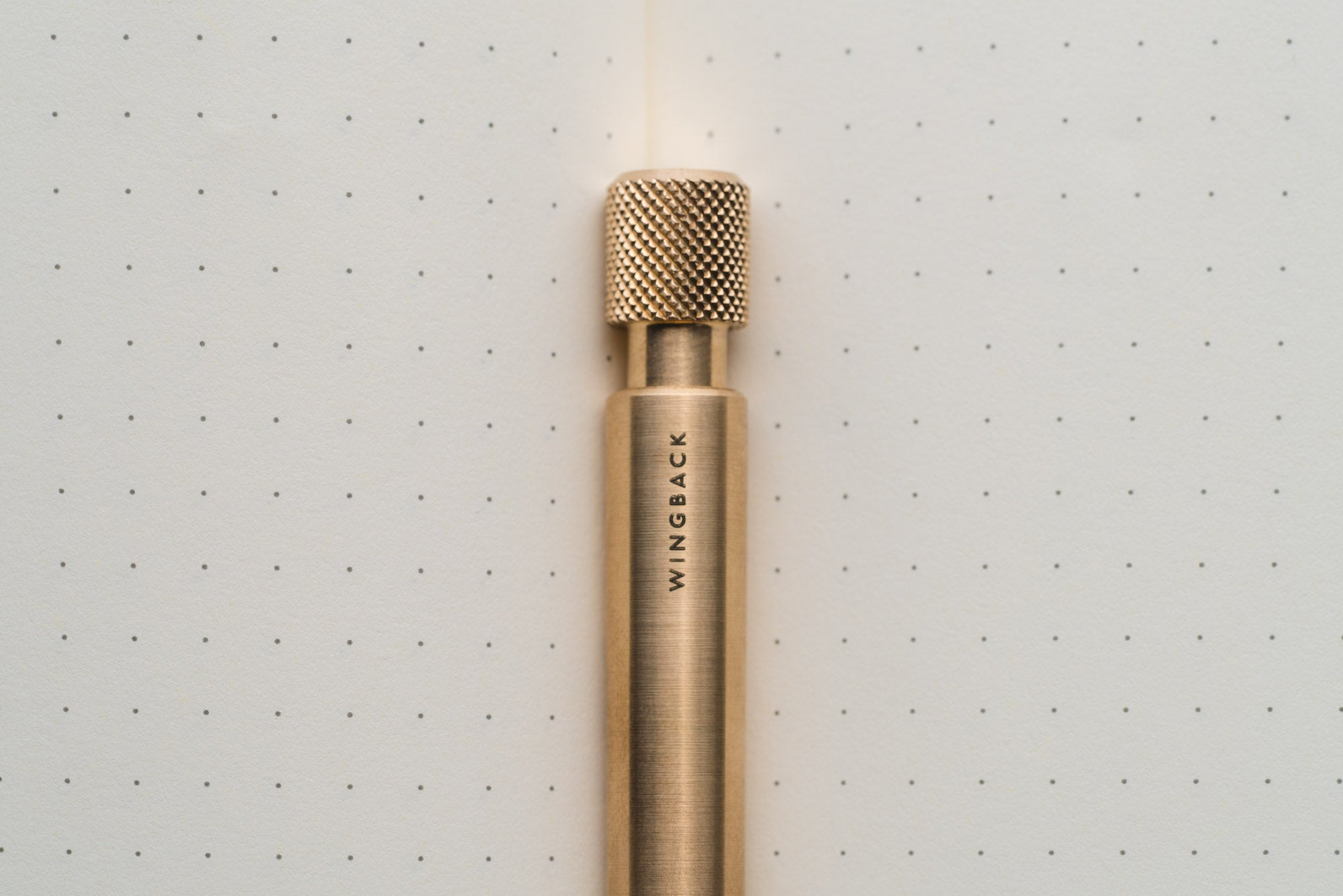 Brass Mechanical Pen by Wingback