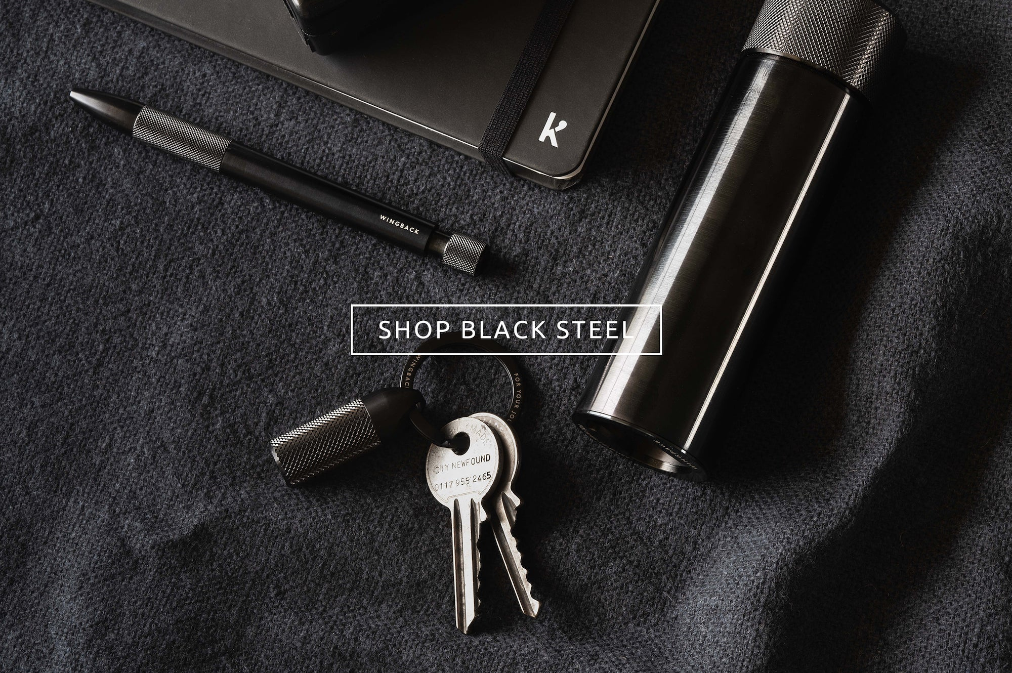 Black Steel Collector's Sets by Wingback