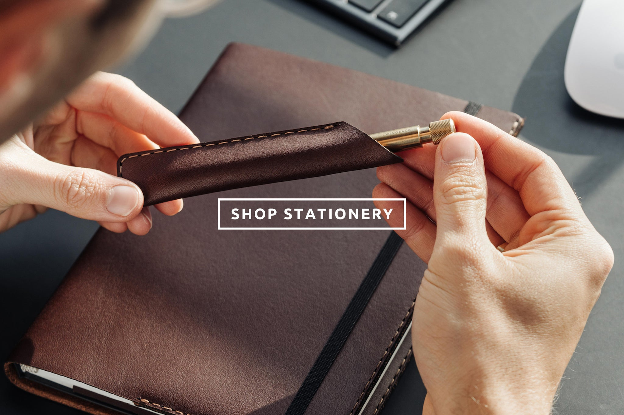Shop personalised mechanical pens and stationery by Wingback