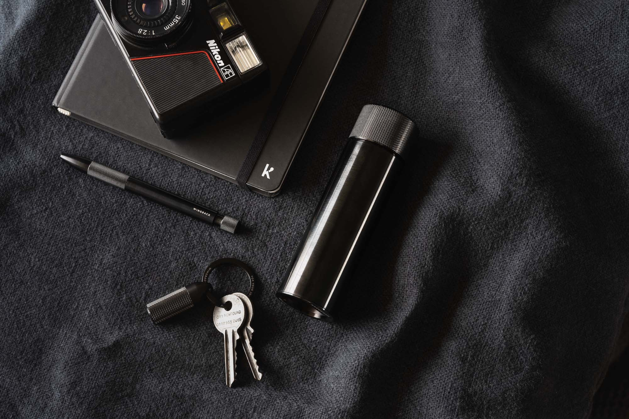 Black Steel Everyday Carry Collection by Wingback