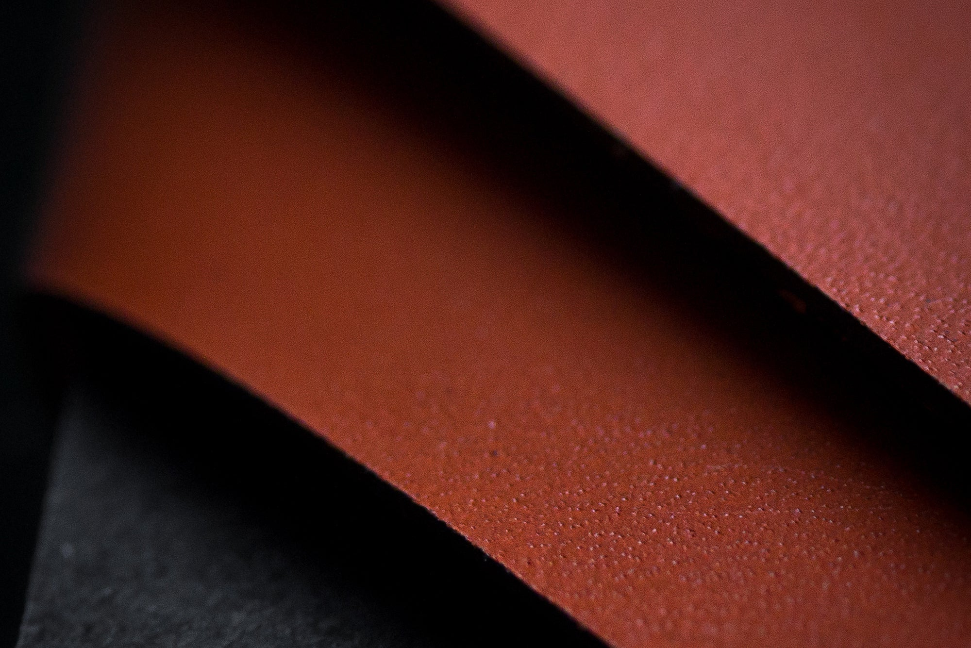 Wingback leather - finishing touches
