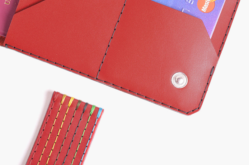 Travel Wallet - Chilli - WINGBACK