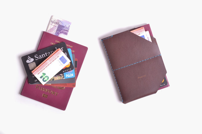 Passport Holder - Chestnut - WINGBACK