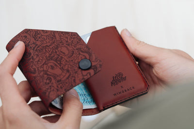 Limited Edition - Cash Wallet X Lei Melendres - WINGBACK