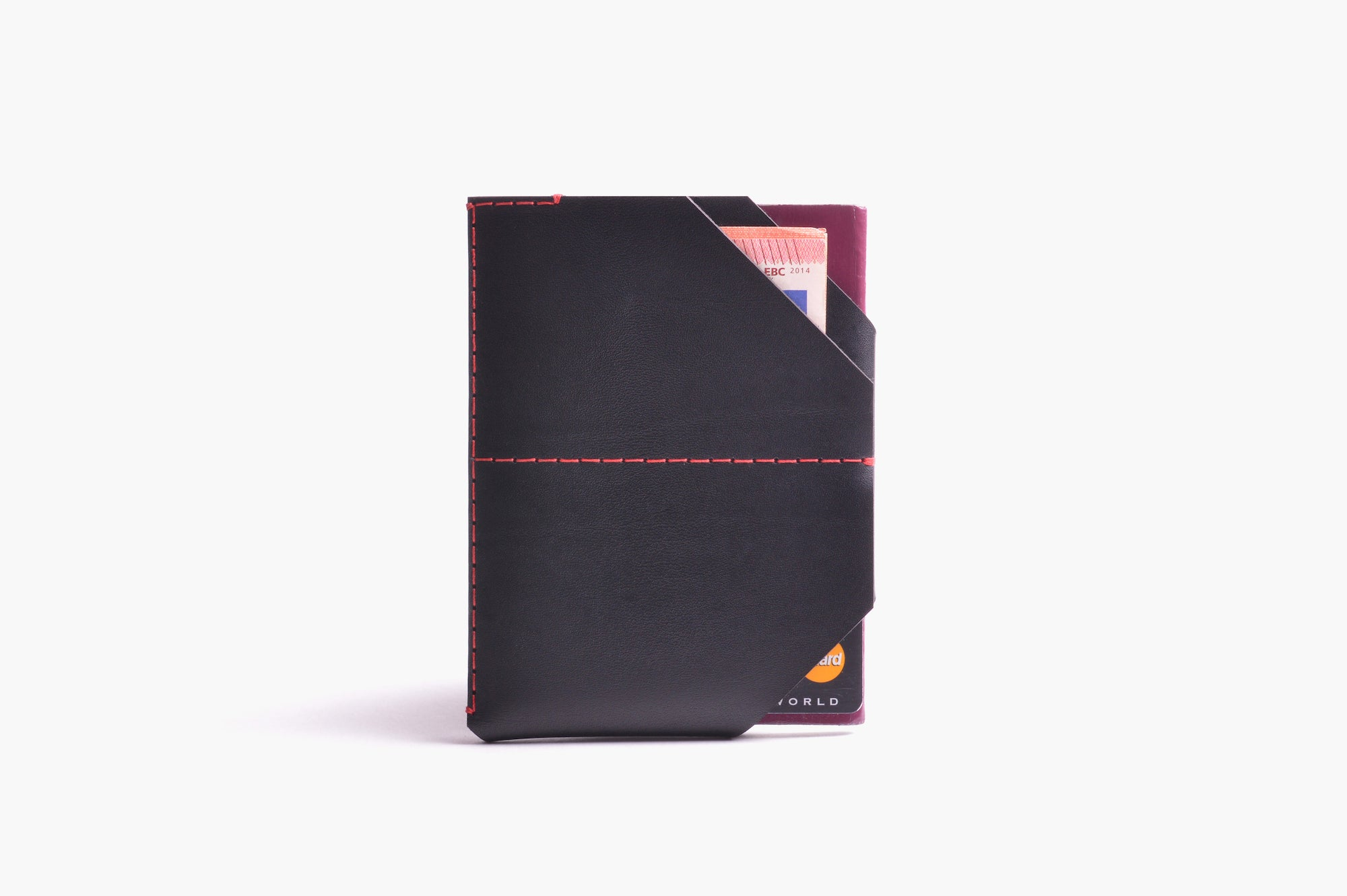 Passport Holder - Charcoal - WINGBACK