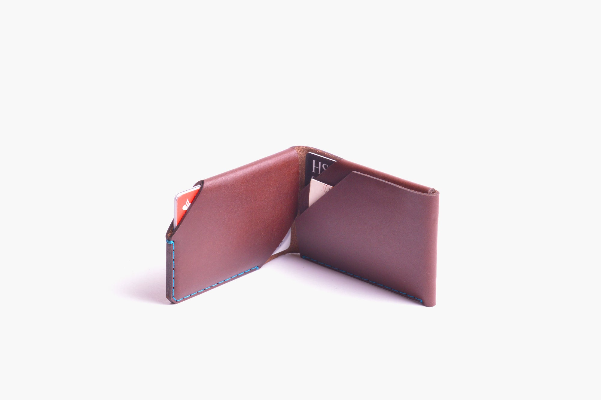 Card Wallet Kit - Chestnut - WINGBACK