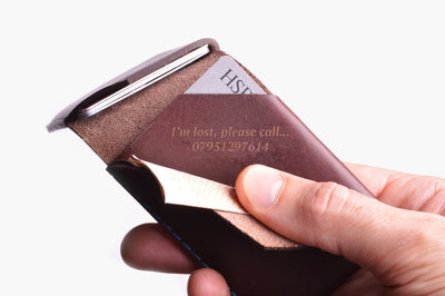 Card Wallet - Chestnut