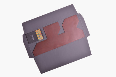 Card Wallet Kit - Chestnut | Wingback