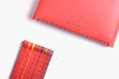 Card Wallet Kit - Chilli