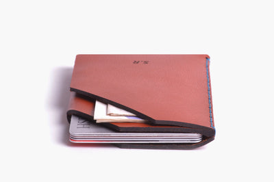 Card Holder - Cognac