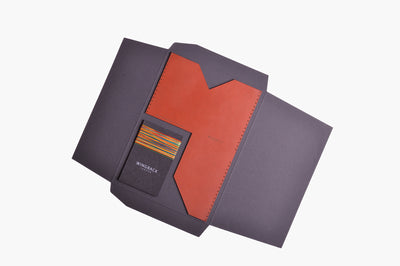 Card Holder kit - Cognac - WINGBACK