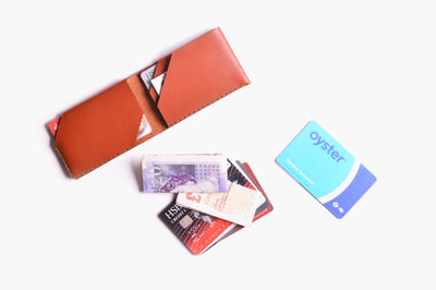 Card Wallet Kit - Cognac - WINGBACK