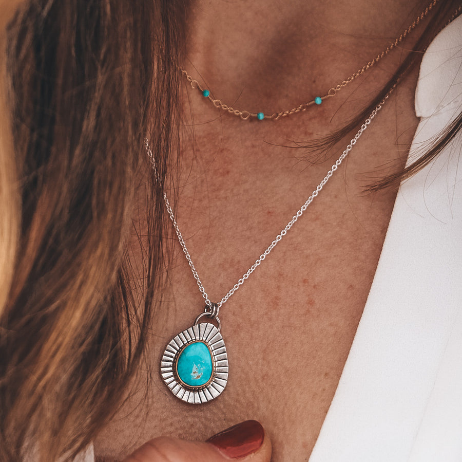 Candelaria Hills Turquoise Necklace #1