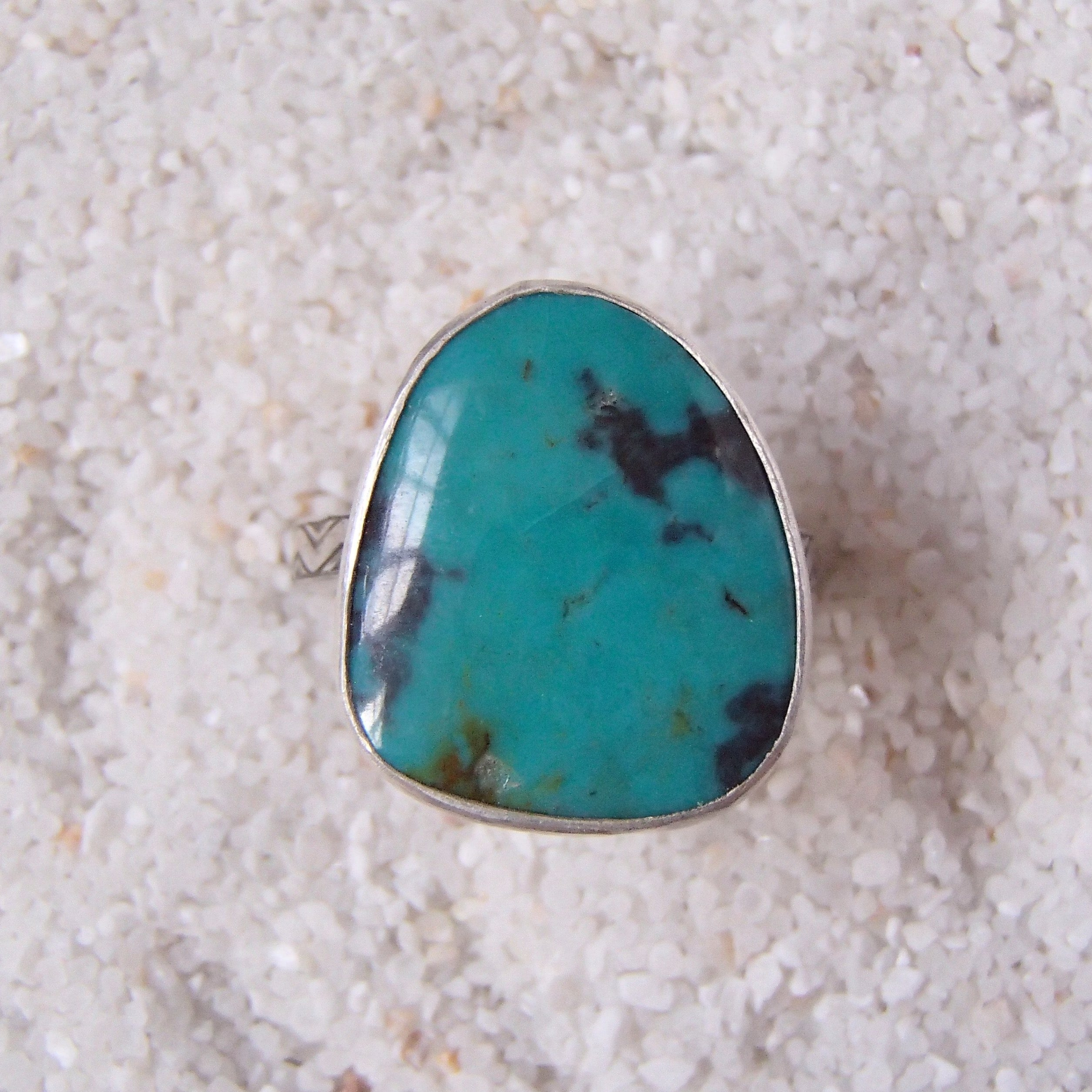 Turquoise Ring - Size 6.5