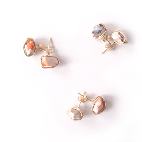 Mexican Opal Studs