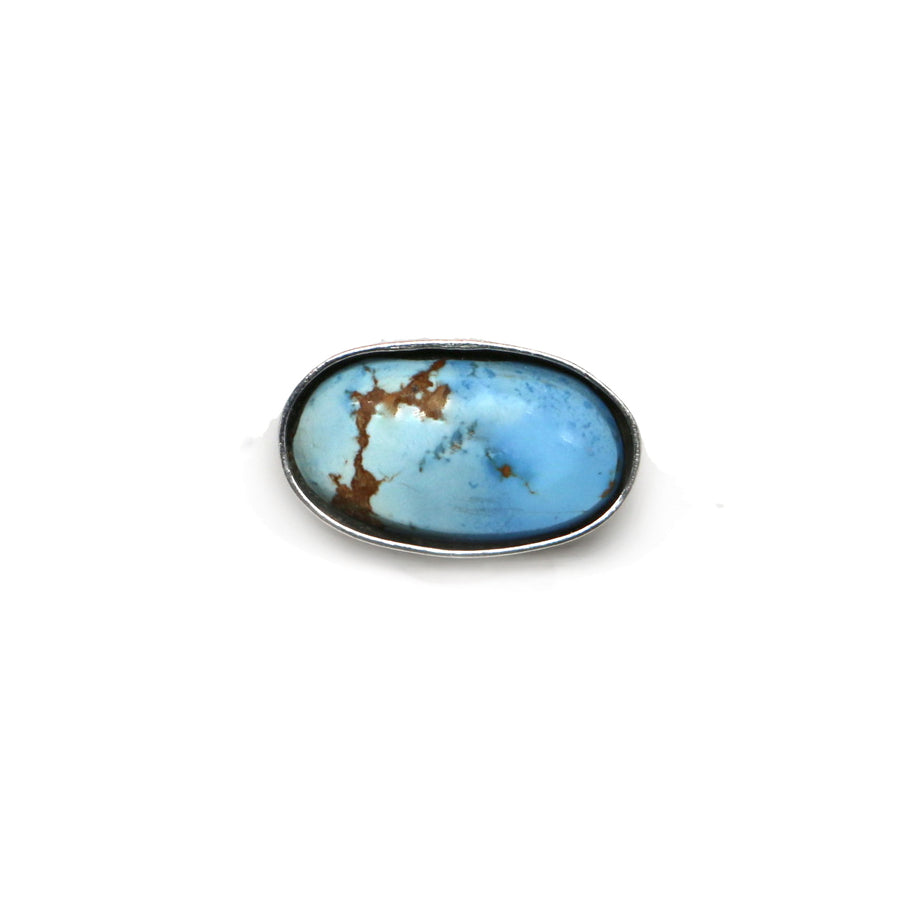 Golden Hills Turquoise Latitude Ring - Made to Finish
