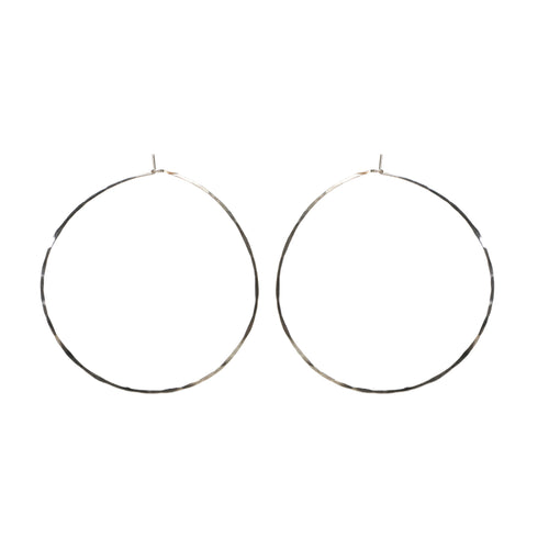 Hammered Hoop - Extra  Large
