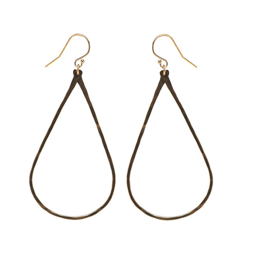 Henley Teardrop Earrings - Large