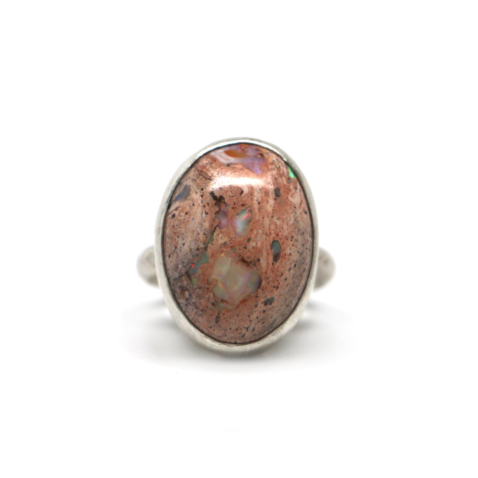 Mexican Opal Ring - Size 7.5