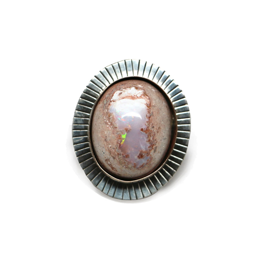 Mexican Opal Ring #4 - Made to Finish