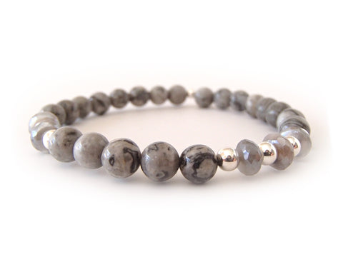 Remi Medium - Grey Agate