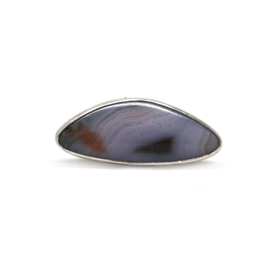 Sierra Madre Agate Ring - Size 8.5
