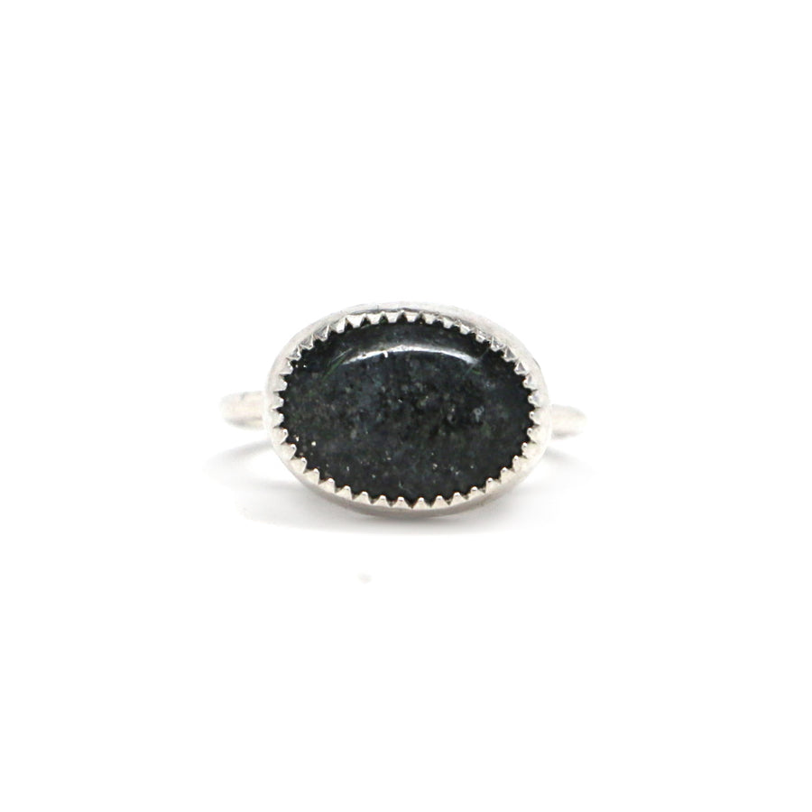 Midnight Quartzite Ring #2 - Size 6