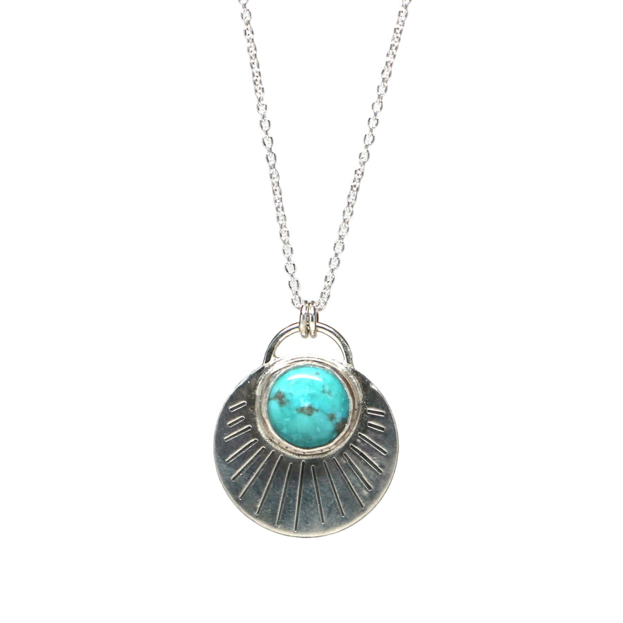 Turquoise Rising Necklace #2