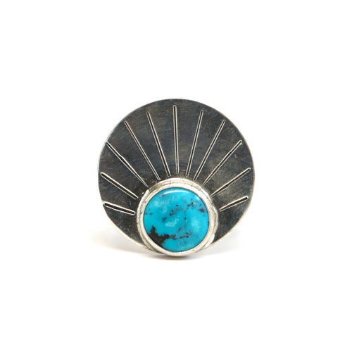 Turquoise Rising Ring #3 - Size 6
