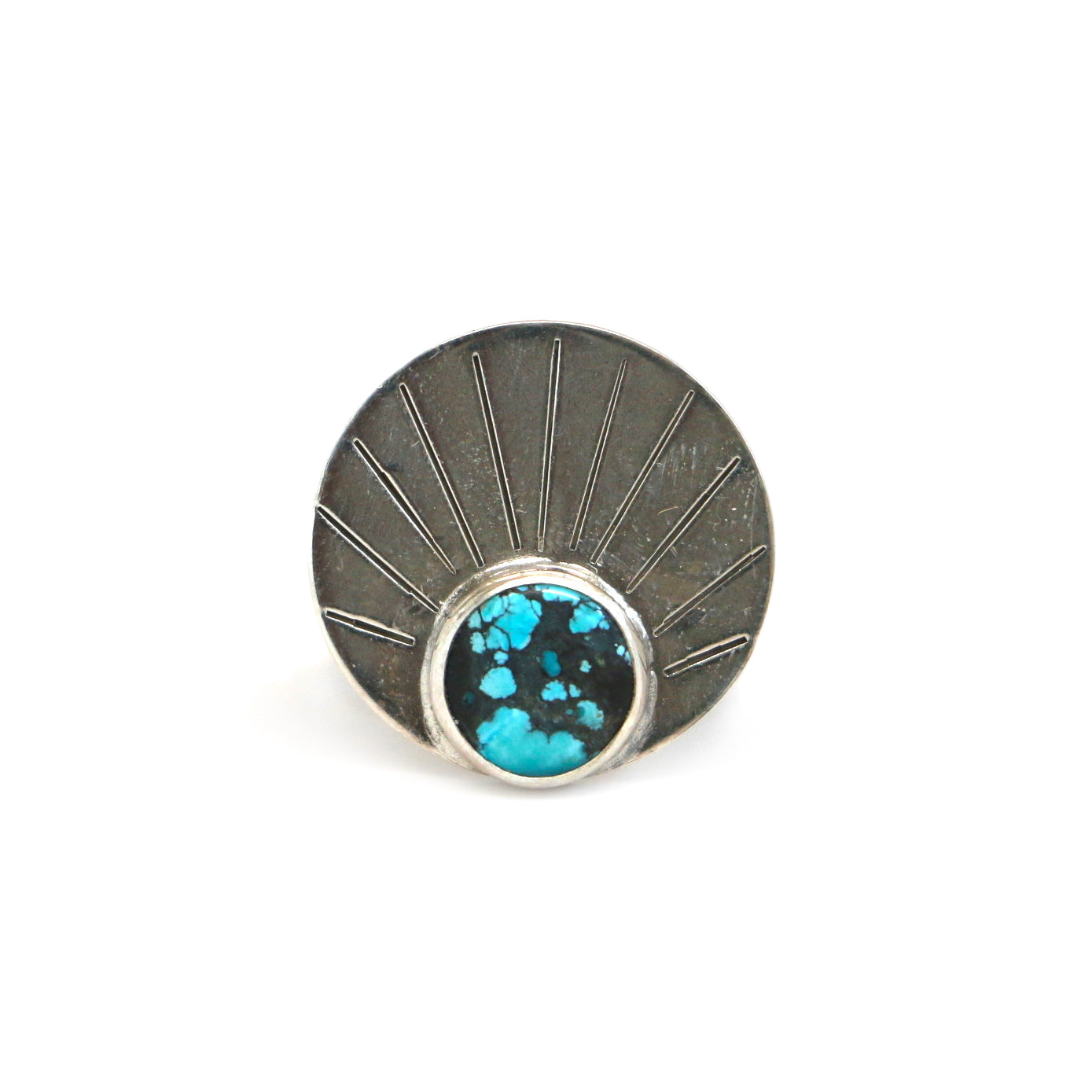 Turquoise Rising Ring #2 - Size 7.5