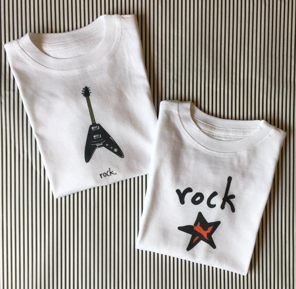 rock. toddler tee.