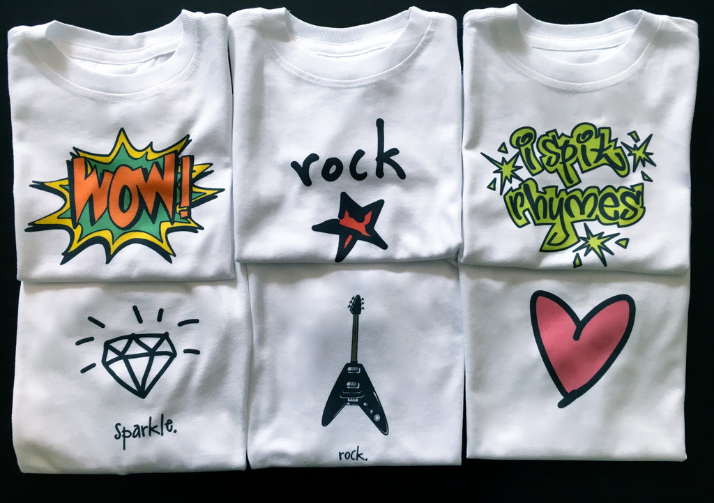 sparkle. toddler tee.
