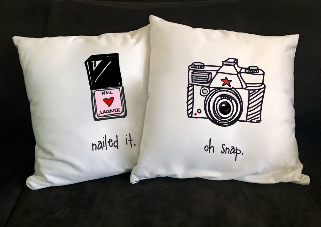 nailed it. 18x18 pillow.