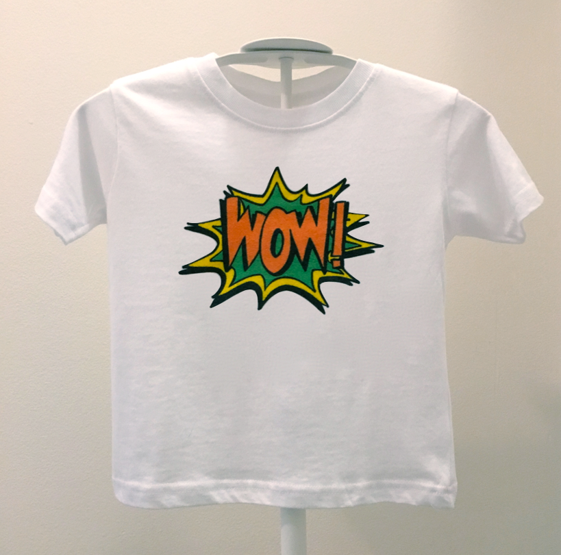 wow! toddler tee.