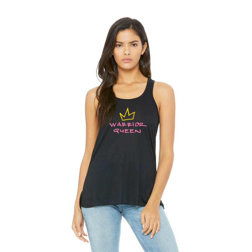 warrior queen racerback flowy tank.