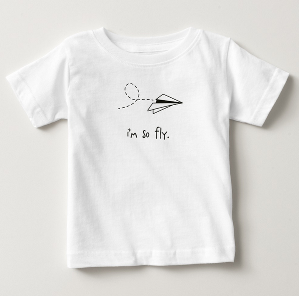 i'm so fly. toddler tee.